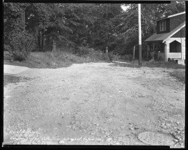 Street Improvement Photographs -- Box 44, Folder 33 (Saybrook Avenue) -- negative, 1931-10-30