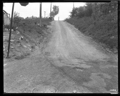 Street Improvement Photographs -- Box 44, Folder 34 (Schiff Avenue) -- negative, 1929