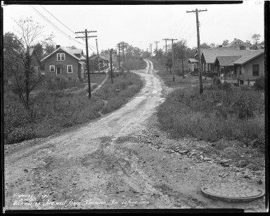 Street Improvement Photographs -- Box 44, Folder 36 (Schwartz Avenue) -- negative, 1930-09-14