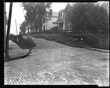Street Improvement Photographs -- Box 44, Folder 37 (Scully Street) -- negative, 1926-09-30