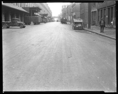 Street Improvement Photographs -- Box 44, Folder 38 (Second Street) -- negative, 1928