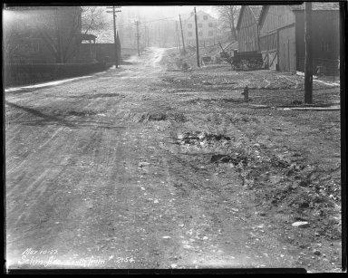 Street Improvement Photographs -- Box 44, Folder 44 (Selim Avenue) -- negative, 1927-03-10
