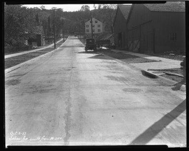 Street Improvement Photographs -- Box 44, Folder 44 (Selim Avenue) -- negative, 1927-10-03