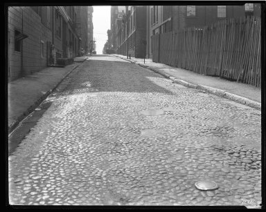 Street Improvement Photographs -- Box 44, Folder 45 (Seventh Street) -- negative, 1929