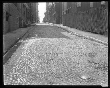 Street Improvement Photographs -- Box 44, Folder 45 (Seventh Street) -- negative, 1929