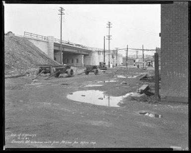 Street Improvement Photographs -- Box 44, Folder 46 (Seventh Street) -- negative, 1932-06-16