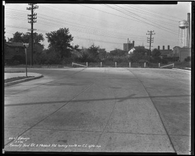 Street Improvement Photographs -- Box 44, Folder 50 (Seventy-Third Street) -- negative, 1932-09-02