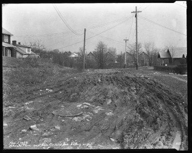 Street Improvement Photographs -- Box 44, Folder 52 (Shasta Place) -- negative, 1929-03-01