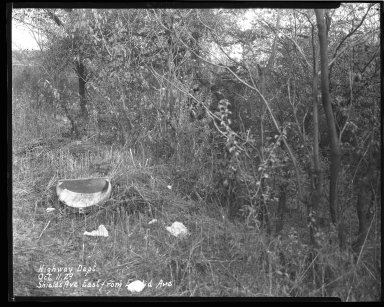 Street Improvement Photographs -- Box 44, Folder 59 (Shields Avenue) -- negative, 1929-10-11