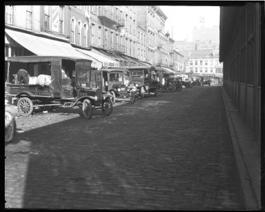 Street Improvement Photographs -- Box 45, Folder 01 (Sixth Street) -- negative, 1924
