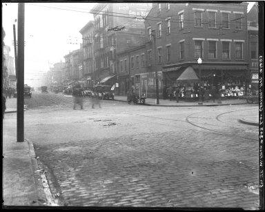 Street Improvement Photographs -- Box 45, Folder 06 (Sixth Street) -- negative, 1923-12-12