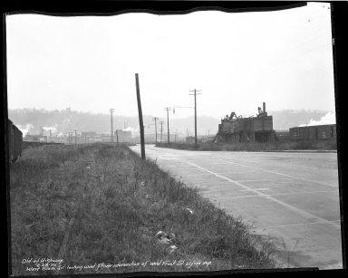 Street Improvement Photographs -- Box 45, Folder 07 (Sixth Street Viaduct) -- negative, 1939-02-28