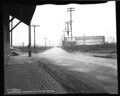 Street Improvement Photographs -- Box 45, Folder 07 (Sixth Street Viaduct) -- negative, 1939-02-28
