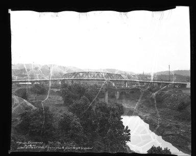 Street Improvement Photographs -- Box 45, Folder 10 (Sixth Street Viaduct) -- negative, 1940-06-28