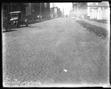 Street Improvement Photographs -- Box 45, Folder 15 (Smith Street) -- negative, 1927-09-01