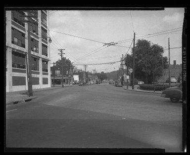 Street Improvement Photographs -- Box 45, Folder 18 (Spring Grove Avenue) -- negative, 1951