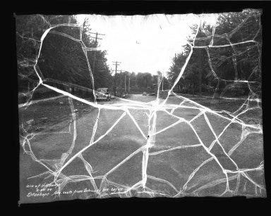 Street Improvement Photographs -- Box 45, Folder 22 (Stanhope Avenue) -- negative, 1939-05-23