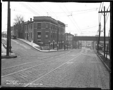 Street Improvement Photographs -- Box 45, Folder 26 (State Avenue) -- negative, 1938-02-23