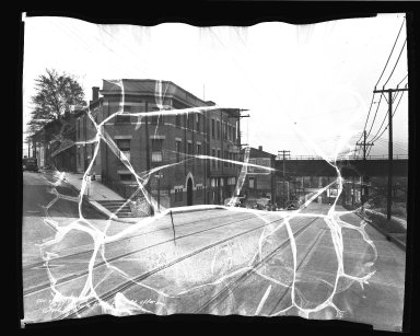 Street Improvement Photographs -- Box 45, Folder 26 (State Avenue) -- negative, 1938-09-22