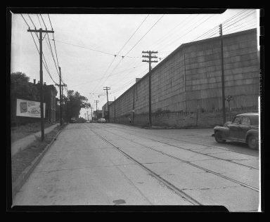 Street Improvement Photographs -- Box 45, Folder 27 (State Avenue) -- negative, 1951