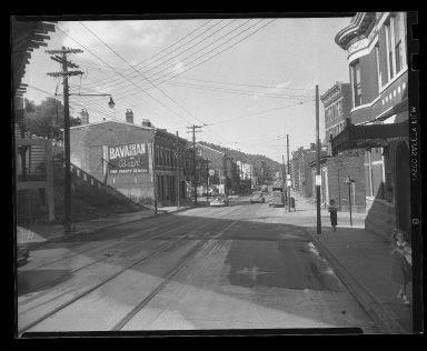 Street Improvement Photographs -- Box 45, Folder 28 (State Avenue) -- negative, 1951