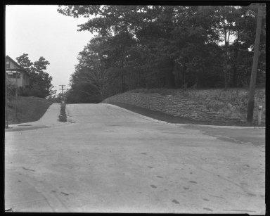 Street Improvement Photographs -- Box 45, Folder 30 (Stettinius Avenue) -- negative, 1951