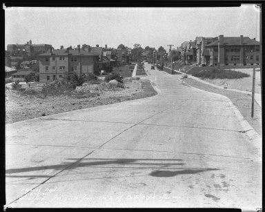 Street Improvement Photographs -- Box 45, Folder 31 (Stratford Avenue) -- negative, 1931-06-17