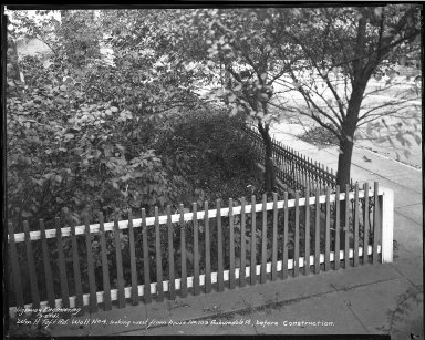 Street Improvement Photographs -- Box 45, Folder 41 (William H. Taft Road) -- negative, 1941-09-29