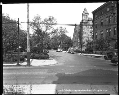 Street Improvement Photographs -- Box 45, Folder 42 (William H. Taft Road) -- negative, 1941-09-02