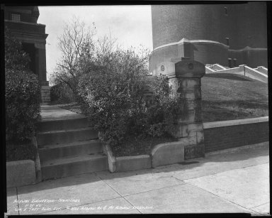 Street Improvement Photographs -- Box 45, Folder 43 (William H. Taft Road) -- negative, 1940-11-25