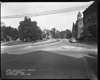 Street Improvement Photographs -- Box 45, Folder 45 (William H. Taft Road) -- negative, 1942-10-08