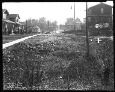 Street Improvement Photographs -- Box 45, Folder 46 (Talbert Avenue) -- negative, 1930-03-17