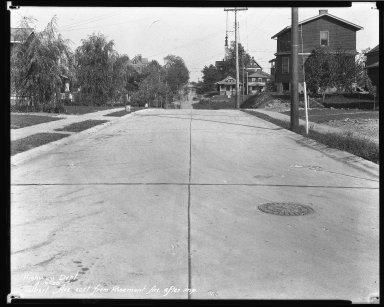 Street Improvement Photographs -- Box 45, Folder 46 (Talbert Avenue) -- negative, 1930-09-19