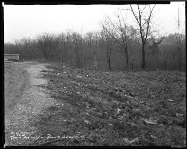 Street Improvement Photographs -- Box 45, Folder 53 (Temple Avenue) -- negative, 1936-01-09