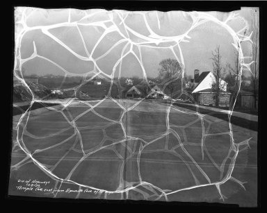 Street Improvement Photographs -- Box 45, Folder 53 (Temple Avenue) -- negative, 1936-12-08