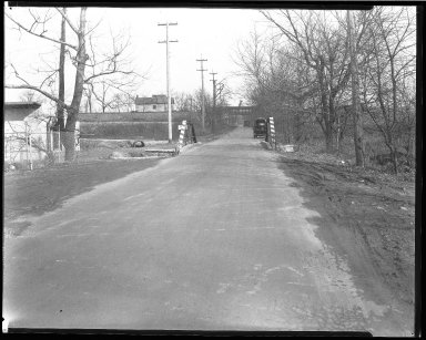 Street Improvement Photographs -- Box 45, Folder 55 (Tennessee Avenue) -- negative, 1928