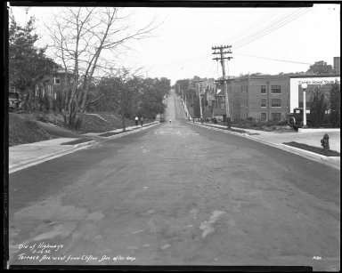 Street Improvement Photographs -- Box 46, Folder 01 (Terrace Avenue) -- negative, 1932-05-16
