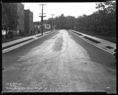 Street Improvement Photographs -- Box 46, Folder 01 (Terrace Avenue) -- negative, 1932-05-16