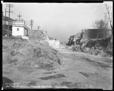 Street Improvement Photographs -- Box 46, Folder 02 (Third Street) -- negative, 1936-12-01