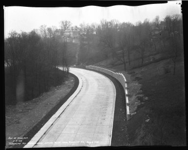 Street Improvement Photographs -- Box 46, Folder 08 (Torrence Parkway) -- negative, 1938-11-08