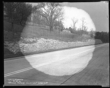Street Improvement Photographs -- Box 46, Folder 09 (Torrence Parkway) -- negative, 1940-04-29