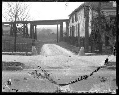 Street Improvement Photographs -- Box 46, Folder 10 (Township Avenue) -- negative, 1929