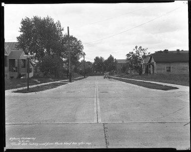 Street Improvement Photographs -- Box 46, Folder 11 (Truitt Avenue) -- negative, 1940-09-30