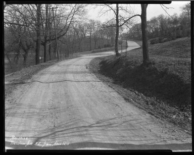 Street Improvement Photographs -- Box 46, Folder 14 (Tusculum Avenue) -- negative, 1928-03-22