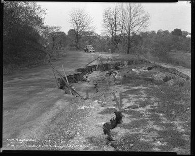 Street Improvement Photographs -- Box 46, Folder 16 (Tusculum Avenue) -- negative, 1940-10-25