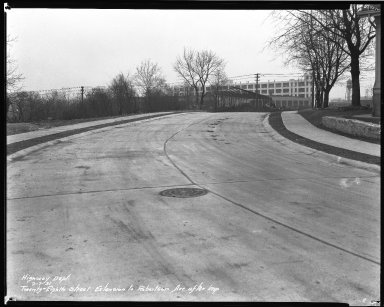 Street Improvement Photographs -- Box 46, Folder 19 (Twenty-Eighth Street) -- negative, 1931-02-07