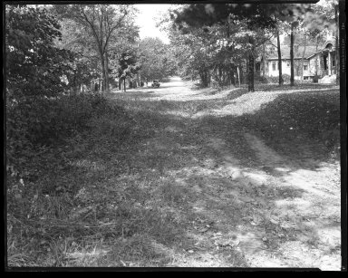 Street Improvement Photographs -- Box 46, Folder 21 (Tyne Avenue) -- negative, 1929
