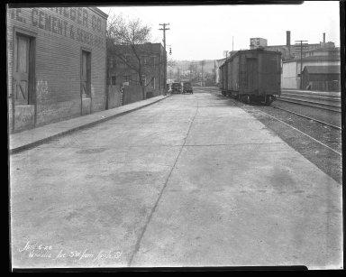 Street Improvement Photographs -- Box 46, Folder 23 (Vandalia Avenue) -- negative, 1928-04-06
