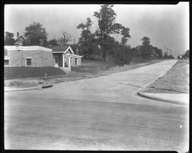 Street Improvement Photographs -- Box 46, Folder 28 (Verdin Avenue) -- negative, 1924