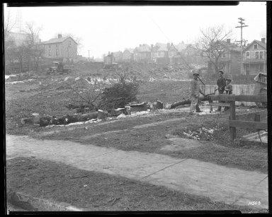 Street Improvement Photographs -- Box 46, Folder 32 (Victory Parkway) -- negative, 1929